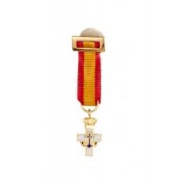 Medalla Miniatura Merito Naval