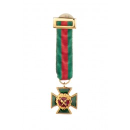 Miniatura Cruz Mérito Guardia Civil distintivo rojo
